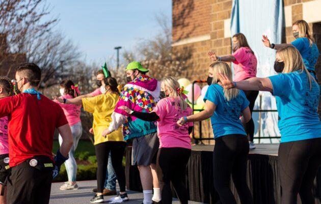 Alumni perform old Morale Dances.